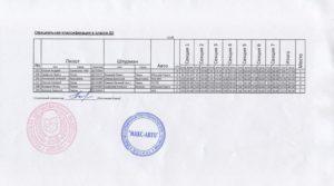 Официальная классификация в классе Д2